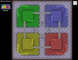 Dans quel Mario Kart est cette arène faite de blocs ?