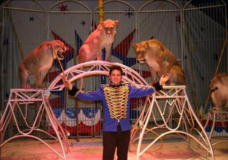 Comment s'appelle ce métier, parfois dangereux, qui consiste à dresser des animaux dans un cirque ?