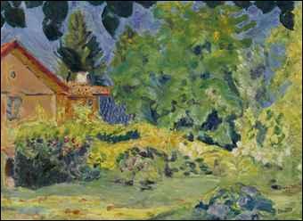 Qui a peint Maison rose au treillage Le grand Lemps ? ?