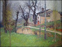 Qui a peint La maison du sabotier ?
