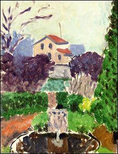 Qui a peint la maison de l'artiste dans le jardin d'Issy les Moulineaux ?