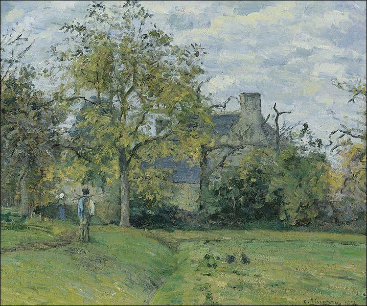 Qui a peint La maison de Piette à Montfoucault ?