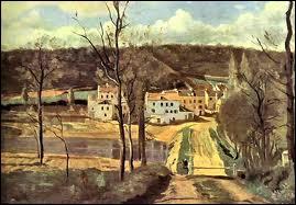 Qui a peint Ville d'Avray les maisons ?