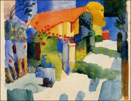 Qui a peint Maison dans le jardin ?