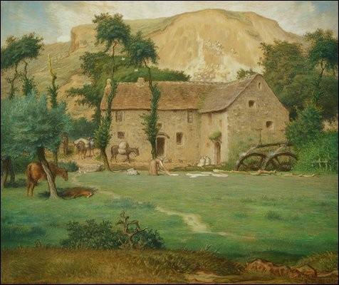 Qui a peint La maison de la ferme ?