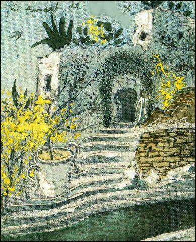 Qui a peint maison avec piscine à port Lligat ?
