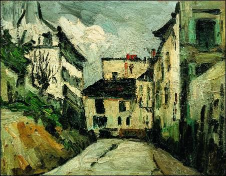 Qui a peint La maison rue des Saules ?