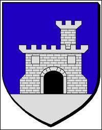 Voici le blason de la commune rhônalpine de Châteauneuf-du-Rhône. Elle se situe dans le département ...