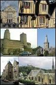 Voici différentes vues de la ville Bretillienne de Fougères. Elle se situe en région ...