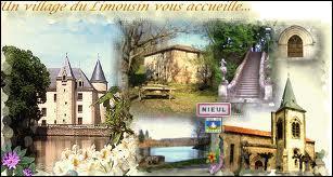 La commune limousine de Nieul se situe dans le département n° ...