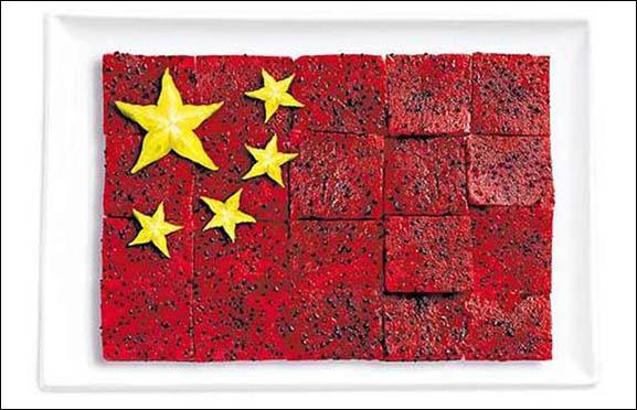 Ce drapeau est fait à base de pitaya (fruit du dragon) et carambole. Quel pays représente-t-il ?