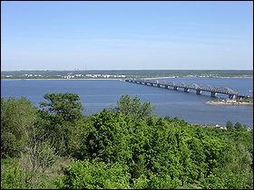 Où se jette la Volga ?