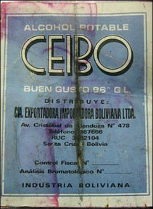 Quelle est l'origine du Cocoroco ? (90% d'alcool)