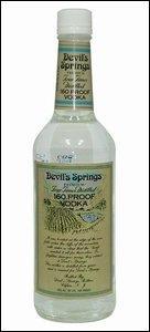 La Vodka Devil's Spring est composée de __% d'alcool.