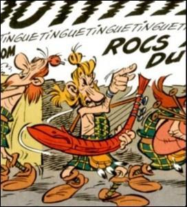 Johnny Hallyday est la dernière caricature en date dans ''Astérix chez les Pictes'' . Quel nom lui a donné l'auteur ?