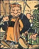 René Goscinny dans ''L'Odyssée d'Astérix'' s'appelle Saül Péhyé. Il est chargé de guider Astérix et Obélix aux portes du désert pour aller chercher de l'huile de roche autrement dit...
