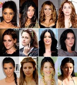 Les stars sans maquillage