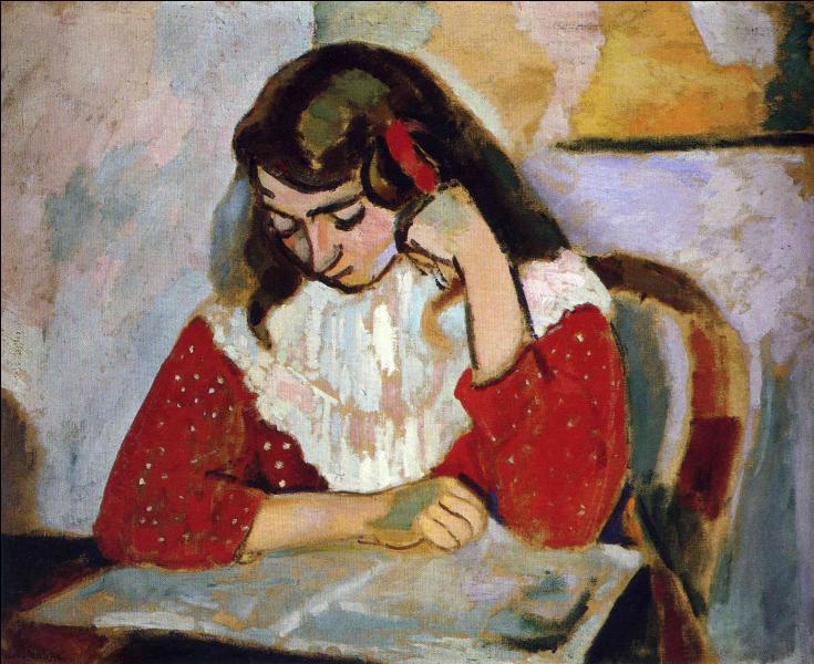 Qui a peint Marguerite lisant ?
