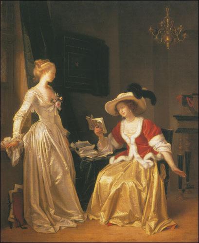 Qui a peint Marguerite Gérard ou la liseuse ?