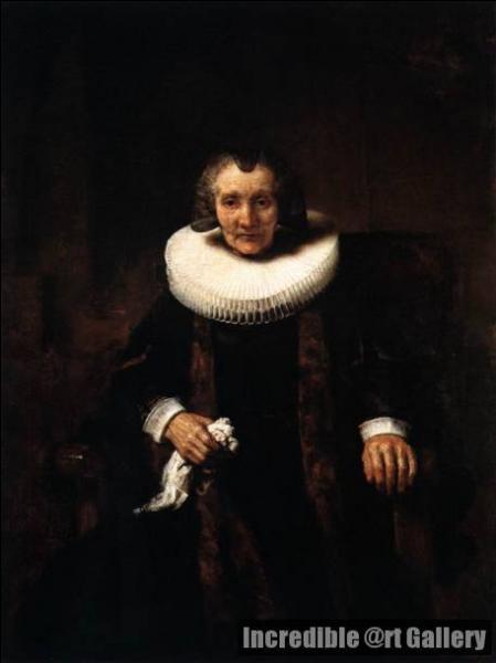 Qui a peint Portrait de Marguerite de Geer, femme de Jacob ?