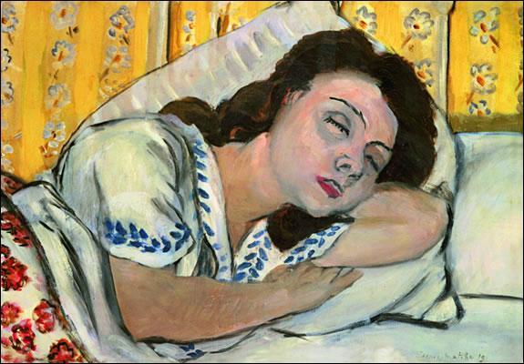 Qui a peint Portrait de Marguerite endormie ?