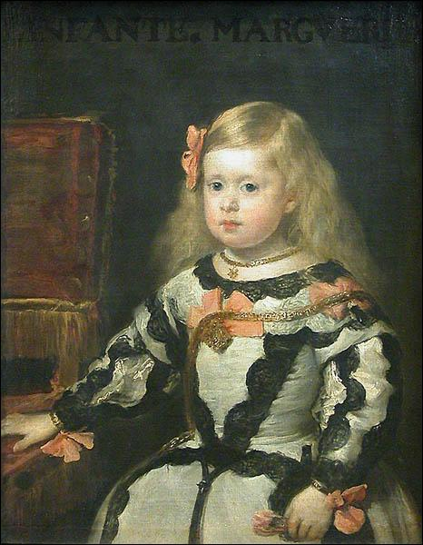 Qui a peint L'infante Marie Marguerite ?