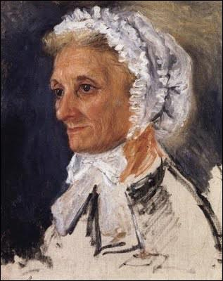 Qui a peint sa mère Marguerite Merlet ?