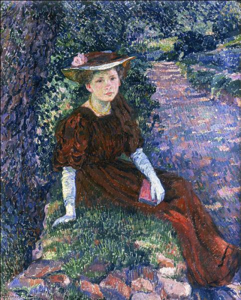 Qui a peint Portrait de Marguerite Weber ?