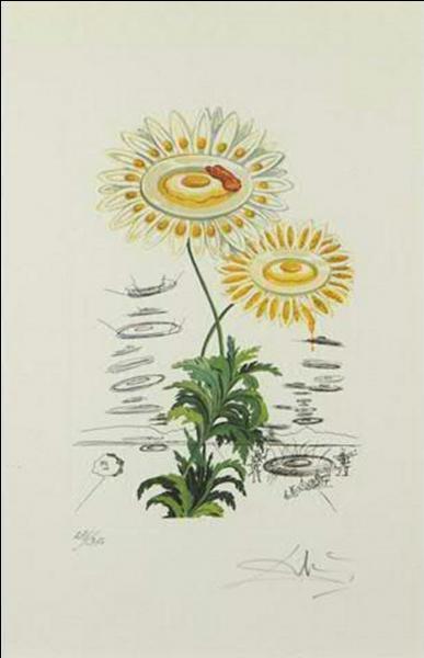 """Quel peintre, plus connu pour avoir peint """"La rose médiative"""" a peint Les marguerites ?"""