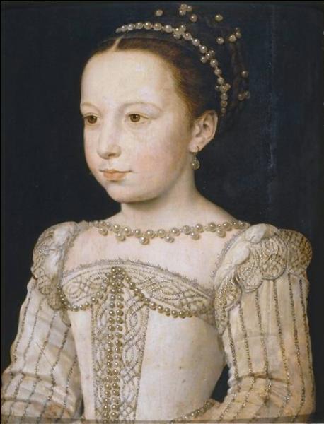 Qui a peint Marguerite de Valois enfant ?
