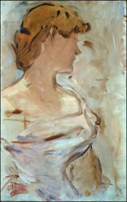 Qui a peint Marguerite de Conflans en toilette de bal ?