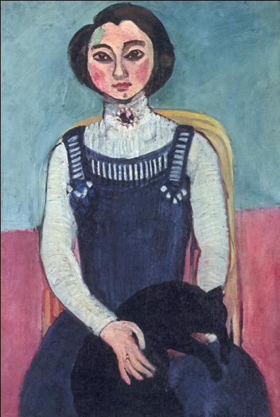 Qui a peint Marguerite au chat noir ?
