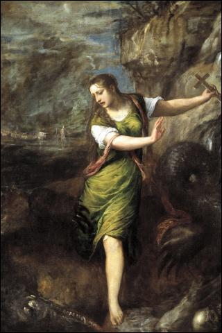 Qui a peint Sainte Marguerite ?