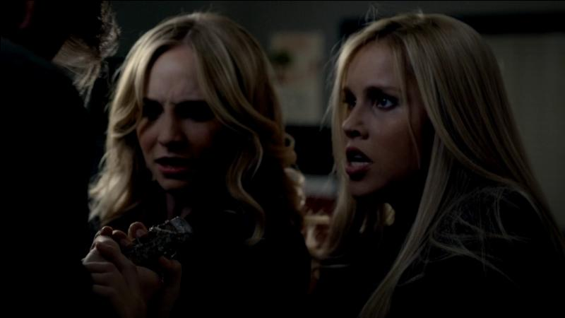 Caroline et Rebecka ont aimé la même personne; qui ?