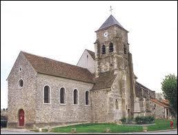 Voici l'église Saint-Rémi de la commune francilienne de Congis-sur-Thérouanne. Elle se situe dans le département ...