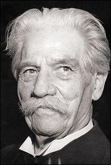 A. S. : Philosophe, médecin et théologien né allemand et mort français, je suis nommé Prix Nobel de la paix en 1952. Je suis...