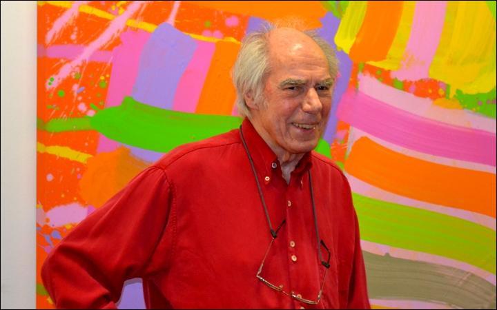 A. I. : Peintre britannique né à Londres en 1922, je réalise des paysages urbains aux couleurs vives. Je suis...