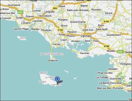 Quelle île située en face de Quiberon est la plus grande île bretonne ?