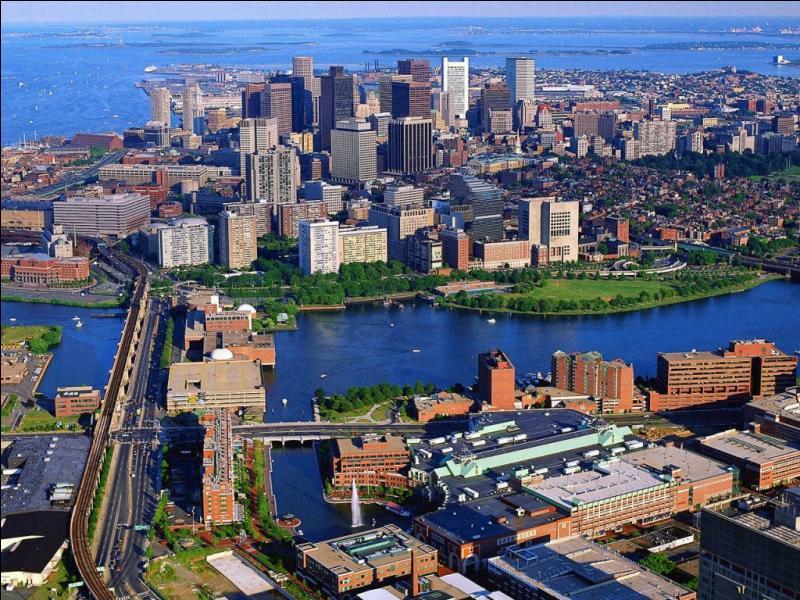 De quel état de la Nouvelle Angleterre la ville de Boston est-elle la capitale ?