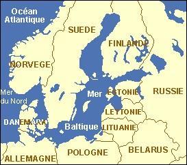 La mer Baltique baigne plusieurs capitales européennes. Laquelle ne baigne-t-elle pas ?