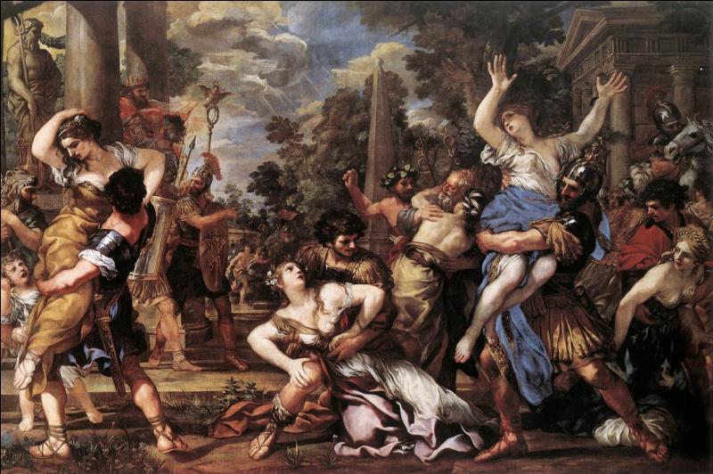 Son enlèvement a fait le succès de Jacques Louis David :