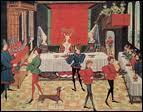 Lors des grands banquets, où les nobles se rendent-ils ?
