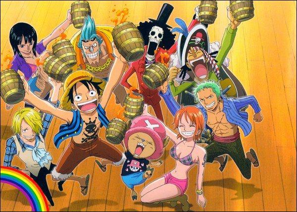 Quelle est la 4eme recrue de Luffy ?