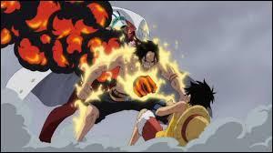 Qui sauve Luffy à la bataille de Marine Ford ?
