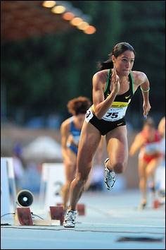 Quel sport consiste à courir le plus vite possible, sur une courte distance ?