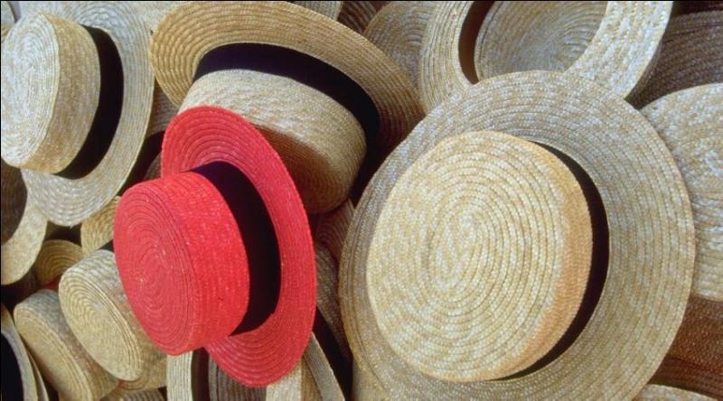 Vous désirez un authentique chapeau de paille ? Rendez vous dans le département du Tarn-et-Garonne où la  cité du chapeau  vous accueillera volontiers. Les  pailloles  tressées par les gardeuses de brebis des Causses ont servi, à l'origine, à la confection du célèbre canotier. Dans quelle ville irez-vous ?
