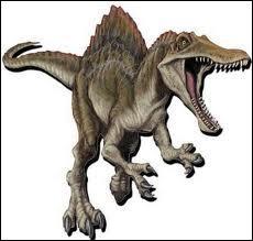 Quel dinosaure est le plus dangereux ? C'est le dinosaure sur la photo.
