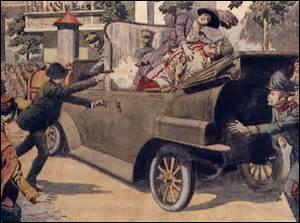 Avant de commencer ce quiz sur ces personnalités qui ont donné leur sang « à la patrie en danger », voici quelques questions concernant la 1ère Guerre mondiale. Né à Graz le 18 décembre 1863, archiduc et prince héritier de l'Empire austro-hongrois, je suis assassiné avec mon épouse, la duchesse de Hohenberg, à Sarajevo par un nationaliste serbe de Bosnie, Gavrilo Princip, le 28 juin 1914, je suis