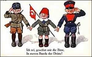 Et pour l'Empire allemand, l'Empire austro-hongrois et l'Empire ottoman, comment était appelé l'accord signé par ces 3 nations ?