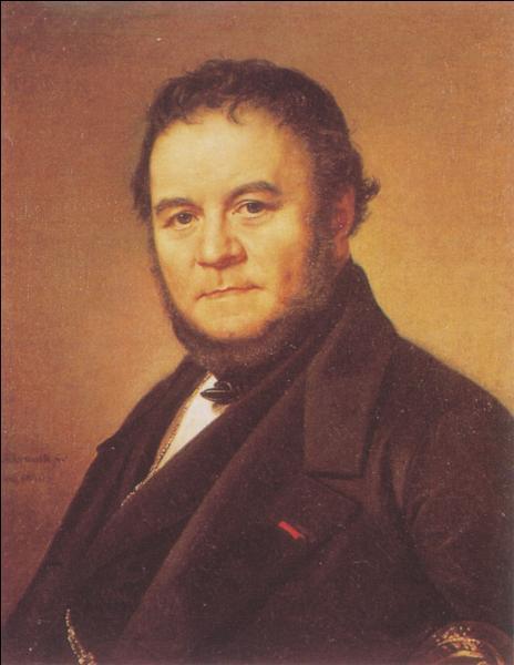 Né à Grenoble en 1783 cet auteur français a écrit  La Chartreuse de Parme . De qui s'agit-il ?